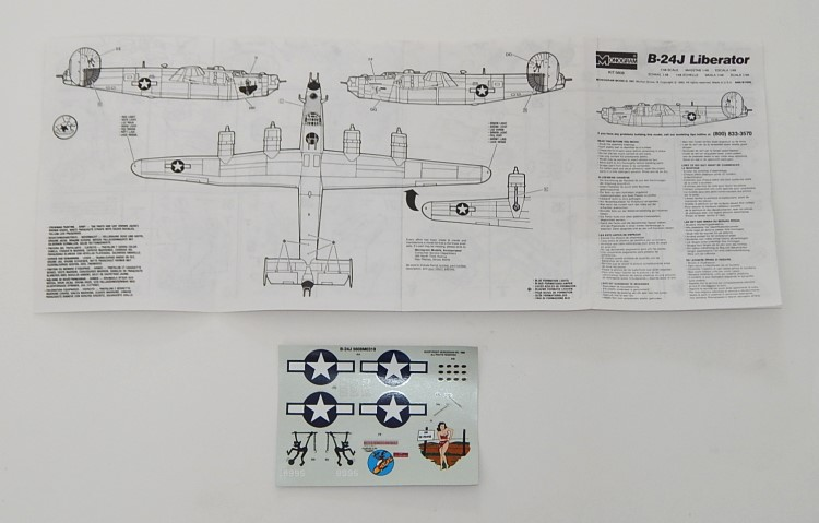 monogram model kit instructions