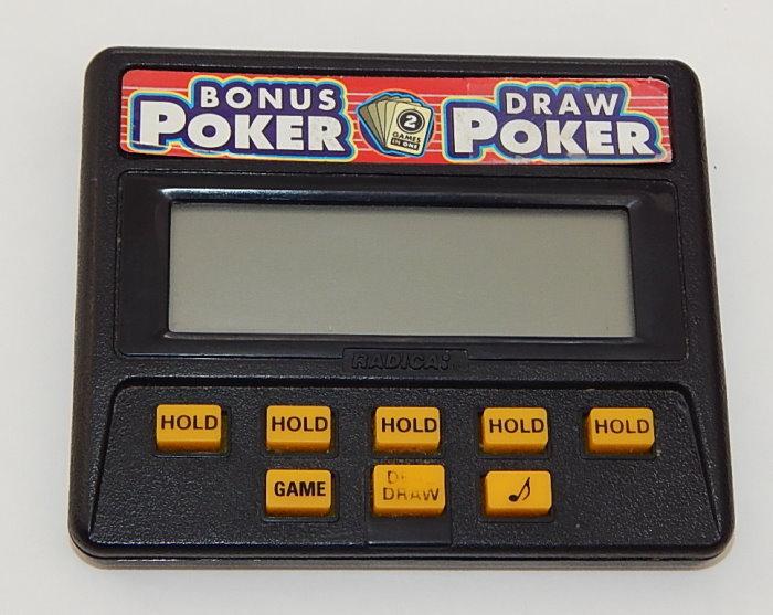 Electronic Poker Game