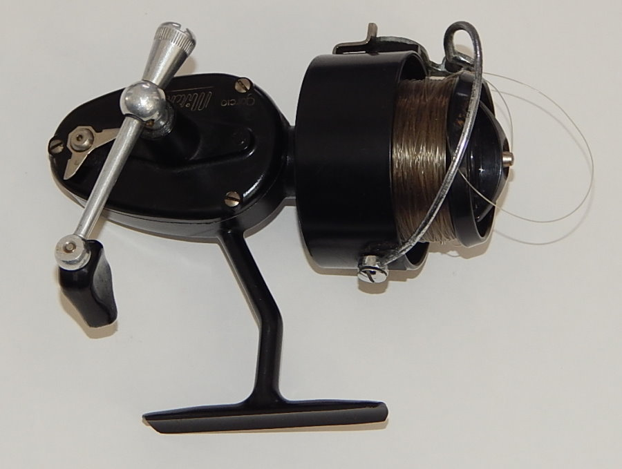 Vintage garcia mitchell 300 spinning reel complete set for Mitchell 300 fishing reel