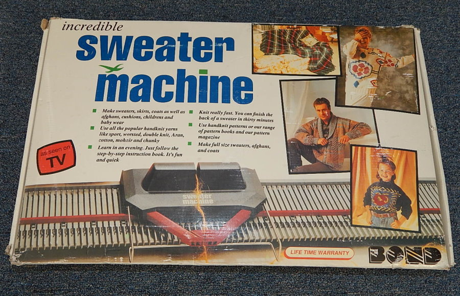 sweater machine