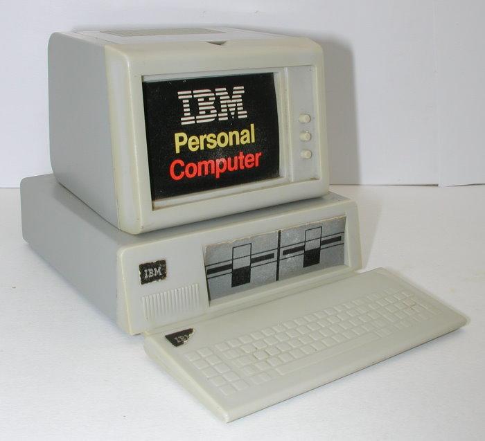 Ibm Pc 5150 Personal Computer Original Plastic Promo 1983