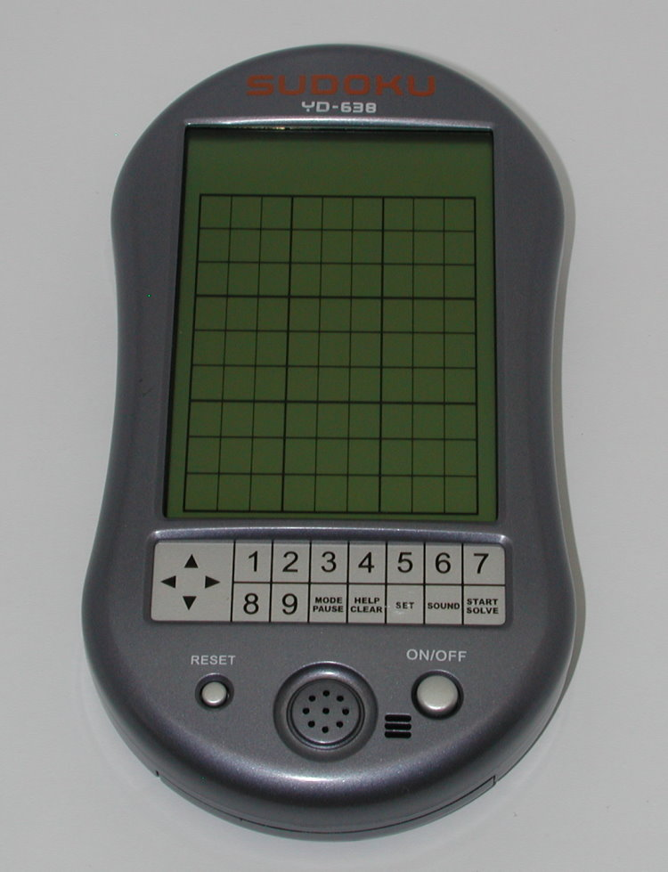 best sudoku electronic handheld game